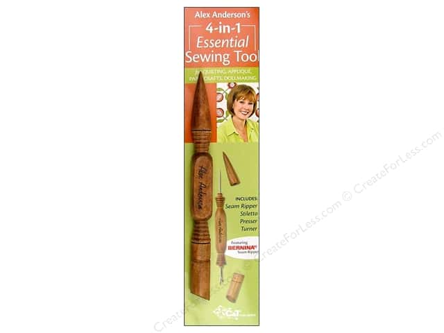 C&T Publishing 4-in-1 Essential Sewing Tool by Alex Anderson