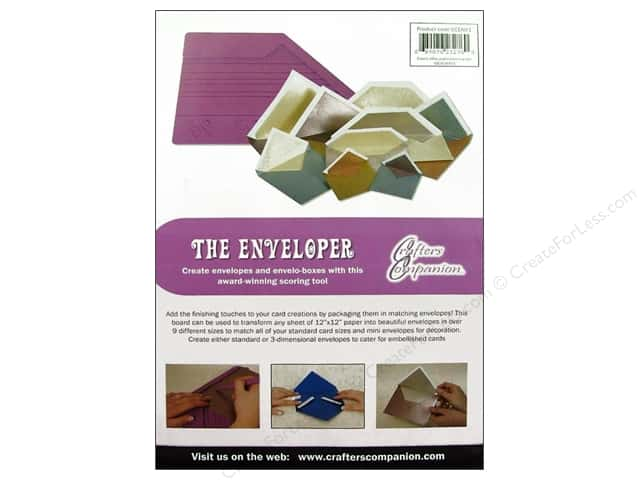 Crafter's Companion The Enveloper Scoring Tool