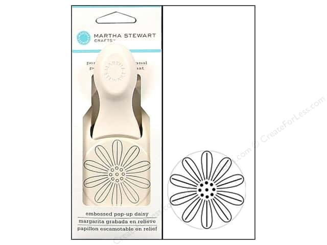 Martha Stewart Punch Embossed Popup Daisy Large