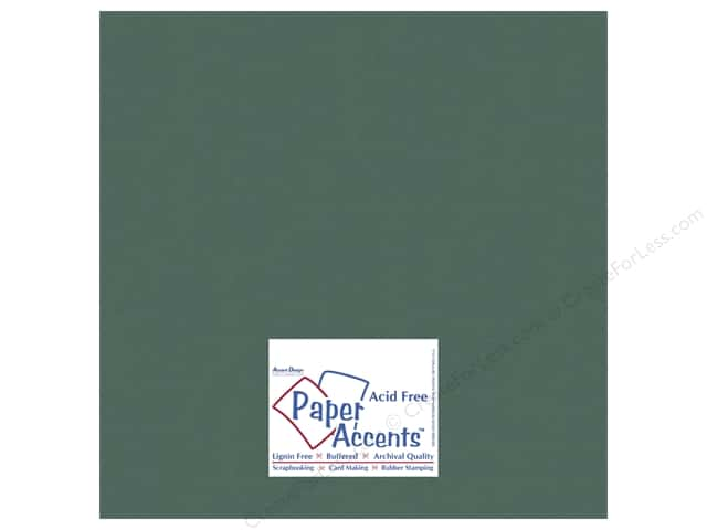 Cardstock 12 x 12 in. #10109 Stash Builder Fern by Paper Accents (25 sheets)