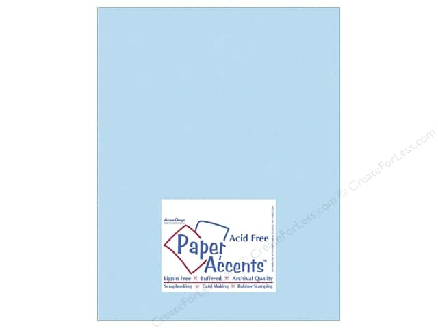 Cardstock 8 1/2 x 11 in. #10110 Stash Builder Robin's Egg by Paper Accents (25 sheets)