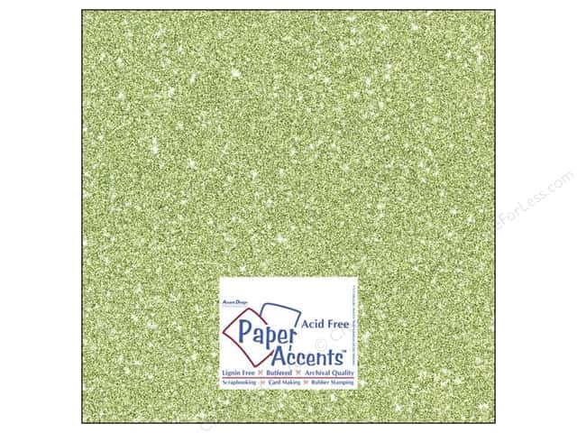 Cardstock 12 x 12 in. #5111 Glitz Silver/Margarita by Paper Accents (25 sheets)