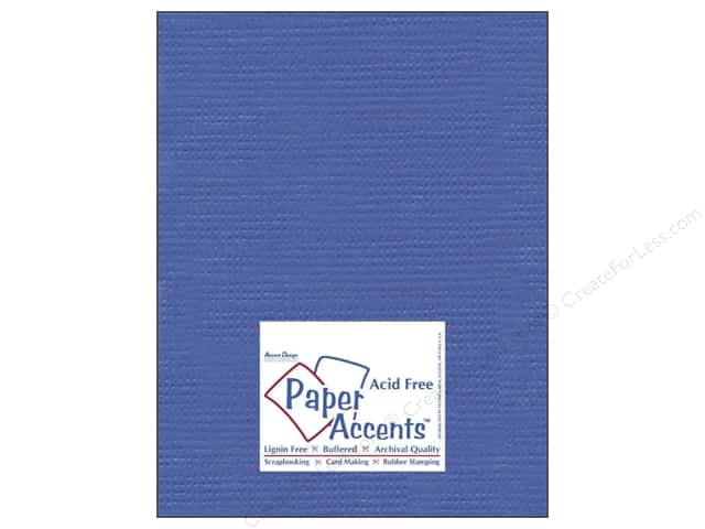 Cardstock 8 1/2 x 11 in. #8086 Muslin American Blue by Paper Accents (25 sheets)