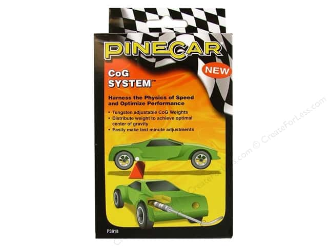 PineCar Weights Tungsten CoG System