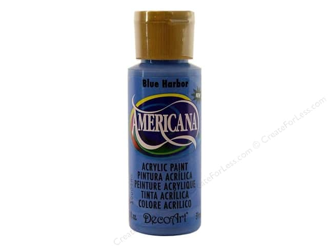 DecoArt Americana Acrylic Paint 2 oz. #283 Blue Harbor