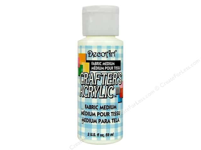 DecoArt Medium Crafter's Acrylic Fabric 2oz