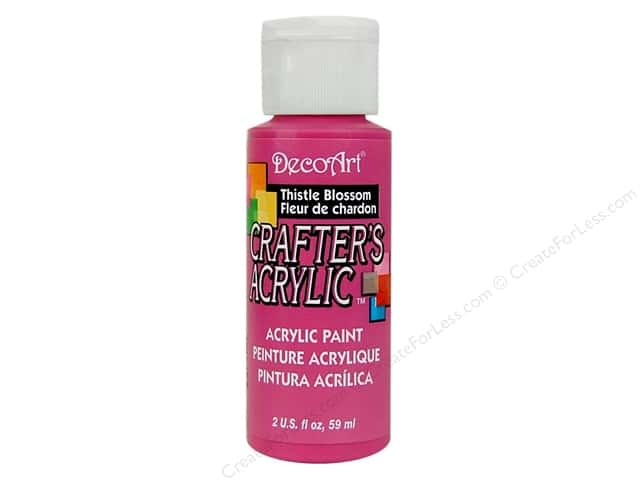 DecoArt Crafter's Acrylic Paint 2 oz. #67 Thistle Blossom