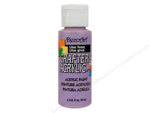 DecoArt Crafter's Acrylic Paint 2 oz. #71 Lilac Frost