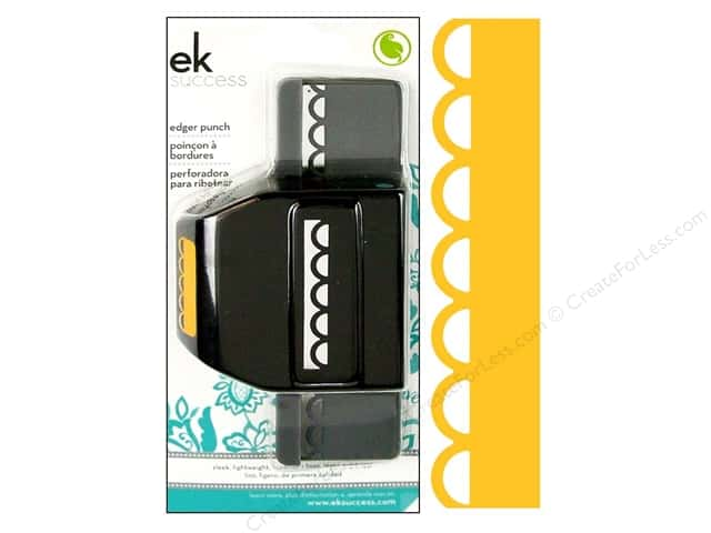EK Paper Shapers Edger Punch Open Scallop