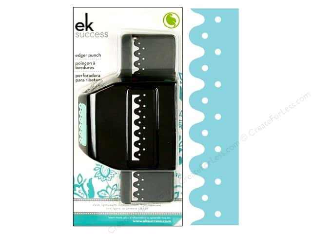 EK Paper Shapers Edger Punch Wavy Dot Scallop