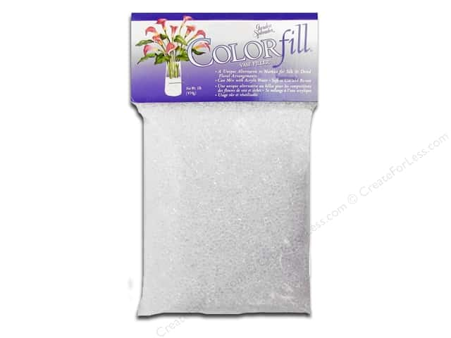 Miracle Coatings Colorfill Vase Filler 1lb Bag