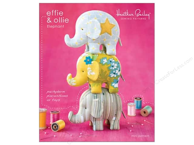 Heather Bailey Effie & Ollie Elephant Pattern