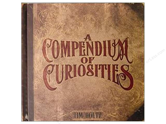 Tim Holtz A Compendium of Curiosities Book