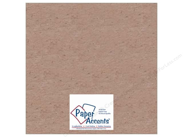 "Paper Accents Chipboard Light Weight 12""x 12"" Natural (25 sheets)"