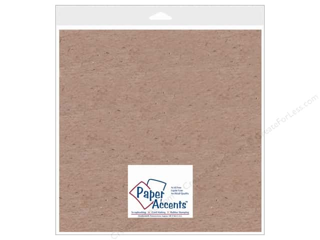 Paper Accents Chipboard 12 x 12 in. 52 pt. Extra Heavy Natural 2 pc.