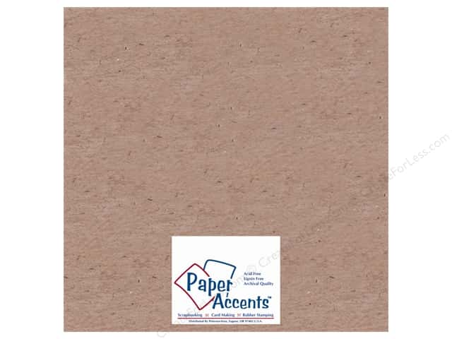 "Paper Accents Chipboard Extra Heavy 12""x 12"" Natural (25 sheets)"