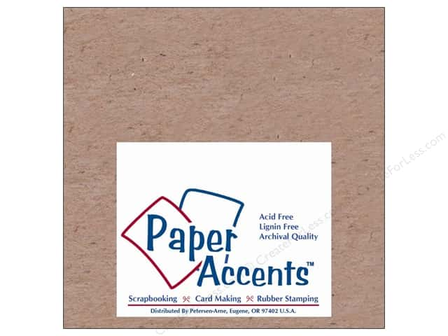 Paper Accents Chipboard 6 x 6 in. 52 pt. Extra Heavy Natural (25 sheets)