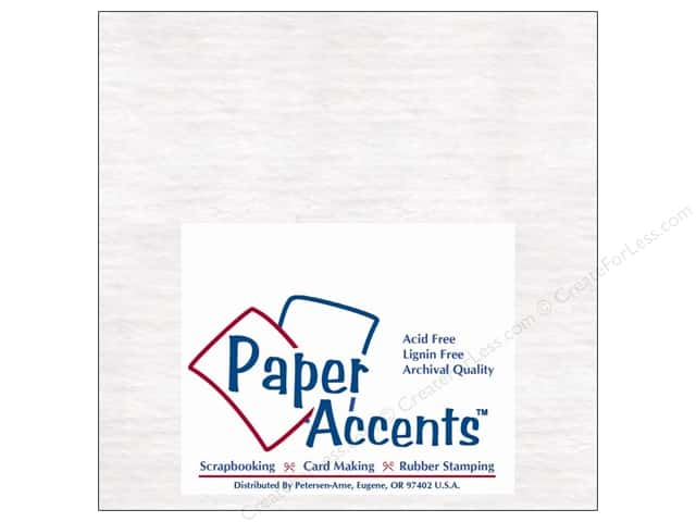 Paper Accents Chipboard 6 x 6 in. 50 pt. Extra Heavy White (25 sheets)