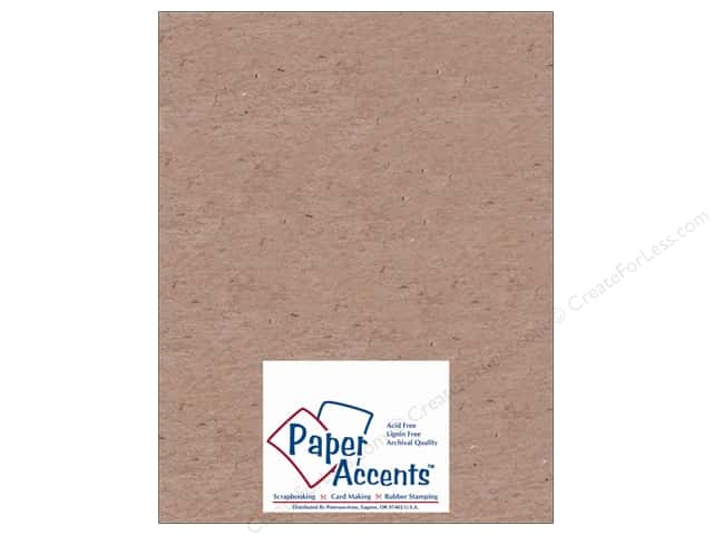 Paper Accents Chipboard 8 1/2 x 11 in. 20 pt. Light Weight Natural (25 sheets)