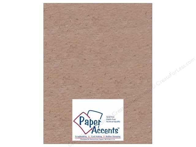Paper Accents Chipboard 8 1/2 x 11 in. 52 pt. Extra Heavy Natural (25 sheets)