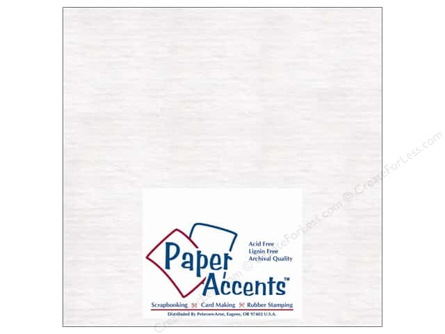 Paper Accents Chipboard 8 x 8 in. 50 pt. Extra Heavy White (25 sheets)