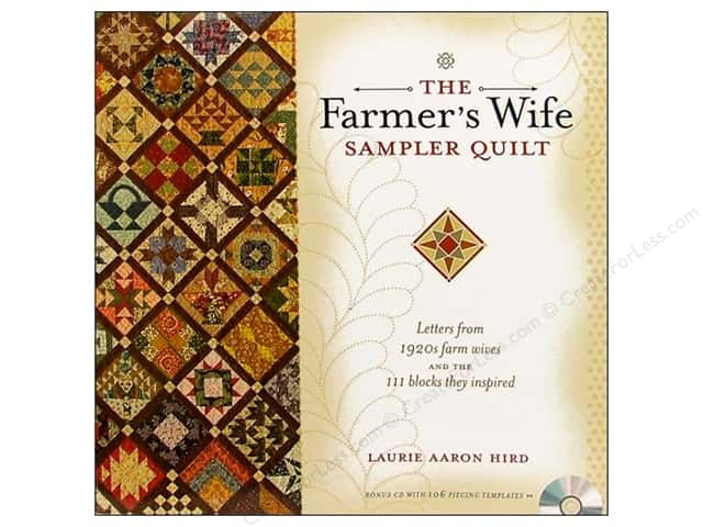 Krause Publications The Farmer's Wife Sampler Quilt Book