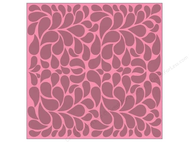 Bazzill 12 x 12 in. Cardstock Glazed Feather Princess 15 pc.