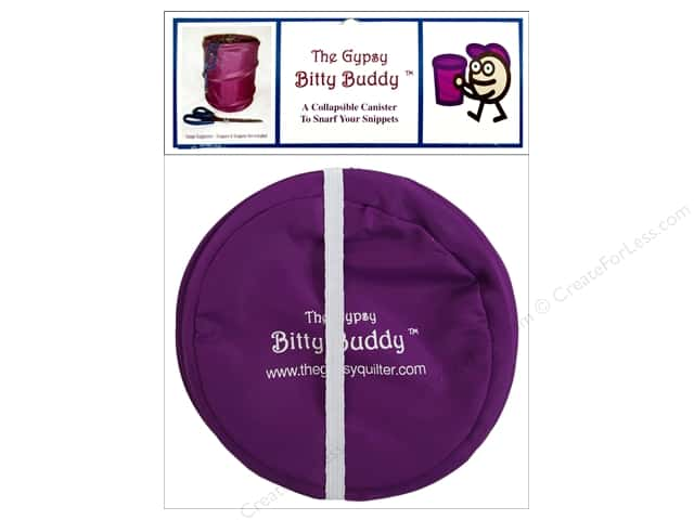 The Gypsy Quilter Bitty Buddy Collapsible Canister