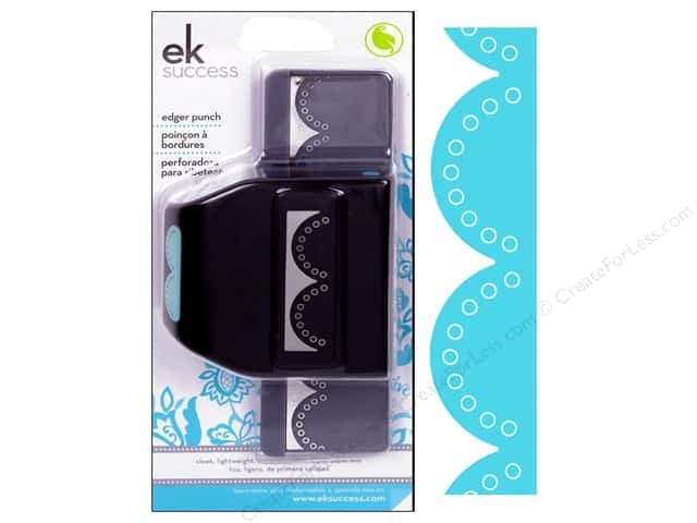 EK Paper Shapers Edger Punch Double Embossed Dot