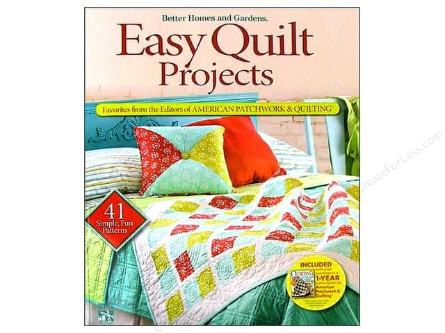 Better Homes and Gardens Easy Quilt Projects Book