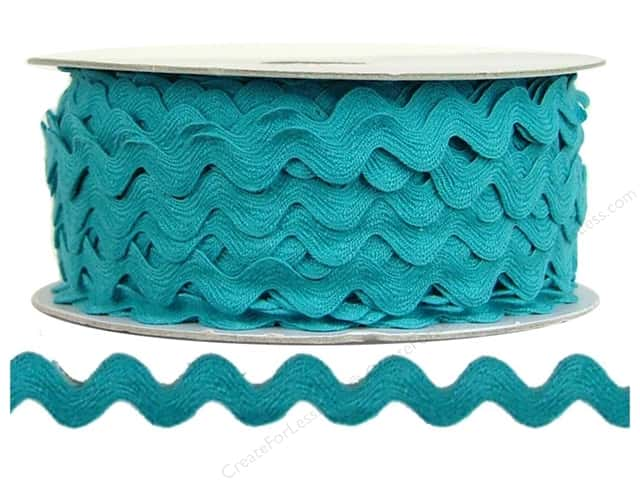 Ric Rac by Cheep Trims  1/2 in. Turquoise (24 yards)