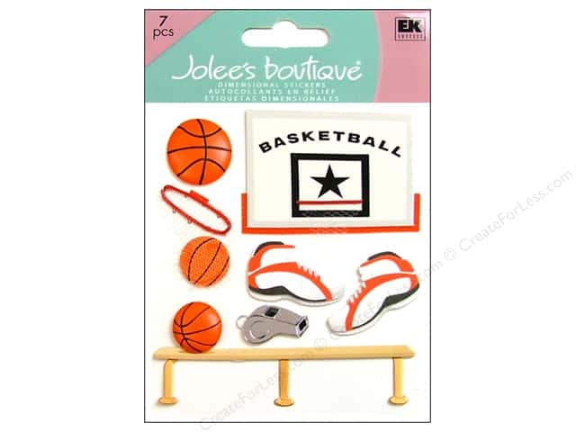 Jolee's Boutique Stickers Basketball