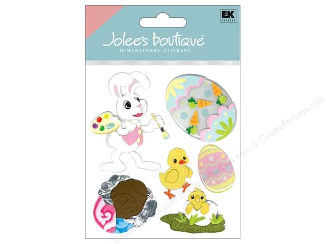 Jolee's Boutique Stickers Bunny Artist