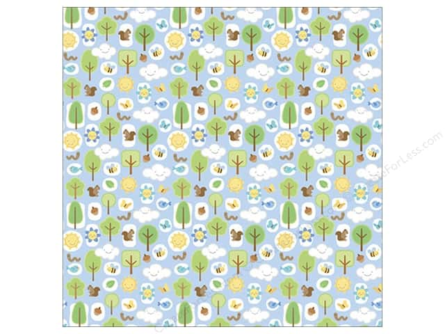 "Doodlebug Paper 12""x 12"" Mother Nature Mother Nature (25 sheets)"