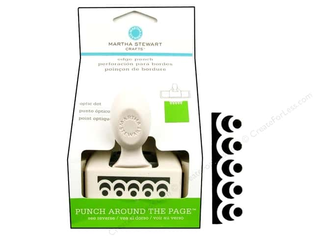 Martha Stewart Edger Punch Optic Dot
