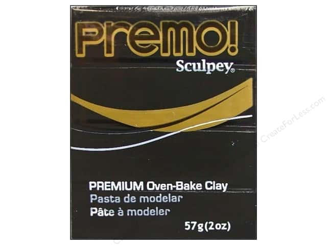 Premo! Sculpey Polymer Clay 2 oz. Black
