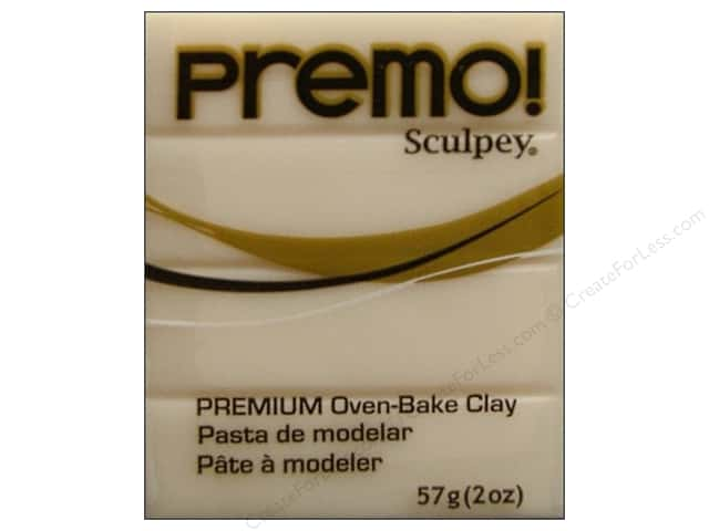 Premo! Sculpey Polymer Clay 2 oz. Translucent