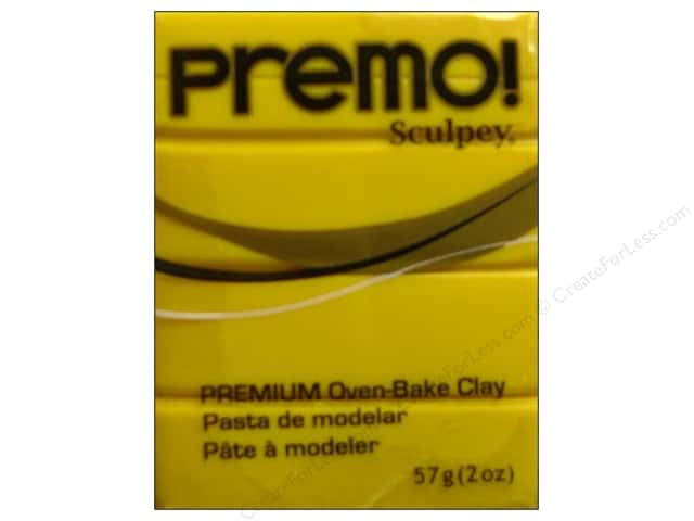Premo Polymer Clay 2oz Cad Yellow