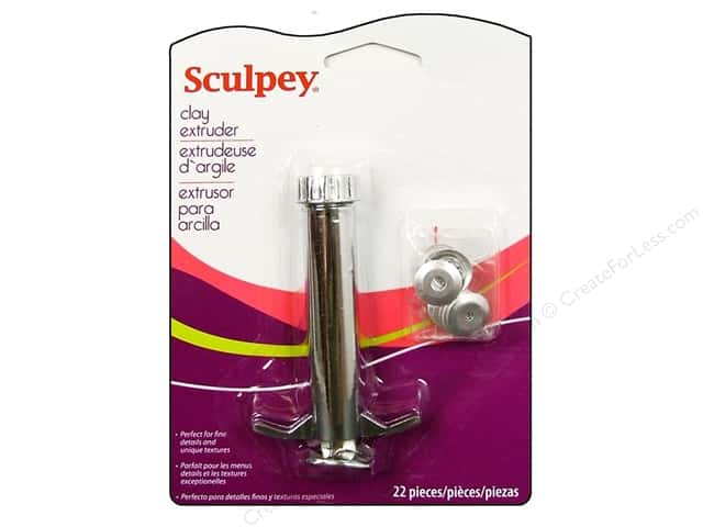 Sculpey Clay Tools Polyform Extruder with Disc