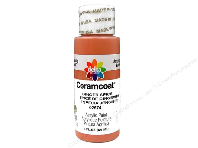 Ceramcoat Acrylic Paint by Delta 2 oz. Ginger Spice