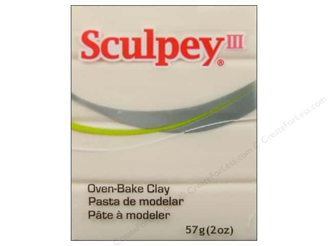 Sculpey III Clay 2oz Translucent