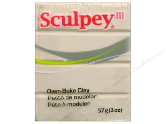 Sculpey III Clay 2oz Pearl