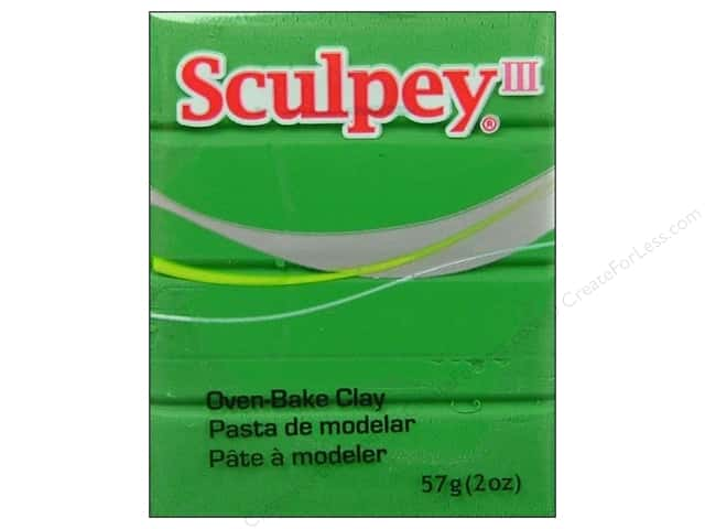 Sculpey III Clay 2 oz. String Bean