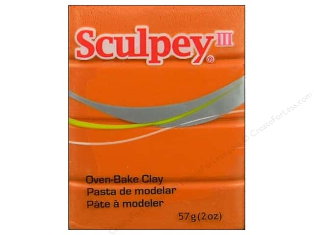 Sculpey III Clay 2 oz. Sweet Potato