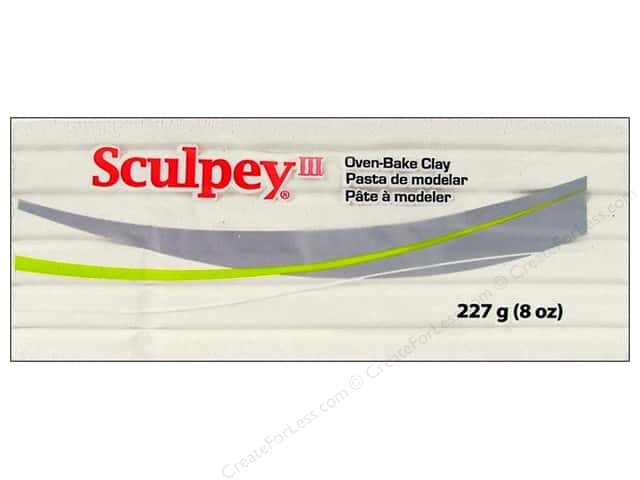Sculpey III Clay 8oz White