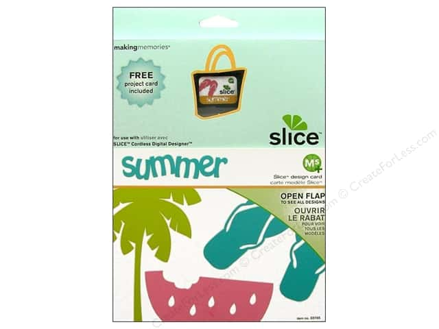 Slice Design Card Making Memories MS+ Summer