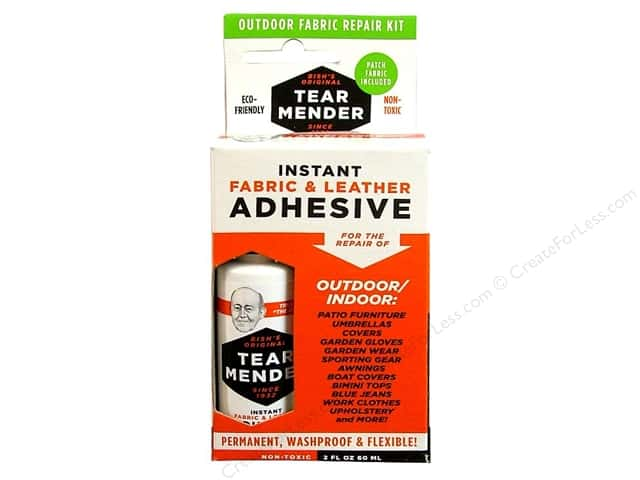 Val-A Tear Mender Adhesive Outdoor Fabric Repair Kit 2oz