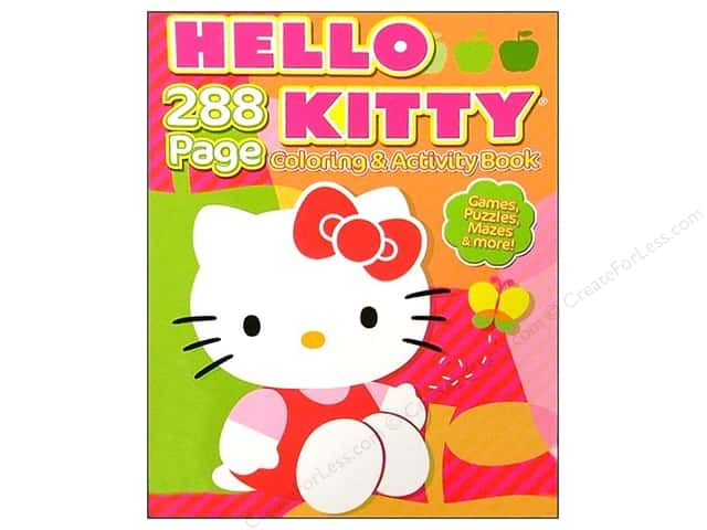 Bendon Coloring & Activity Hello Kitty Book