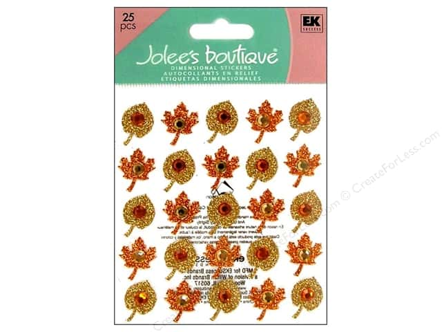 Jolee's Boutique Stickers Repeats Fall Leaves