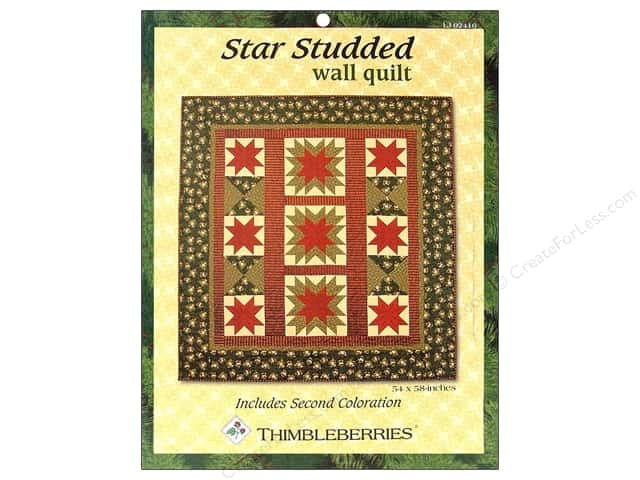 Thimbleberries Star Studded Wall Quilt Pattern